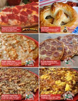 Pizza and Pretzels