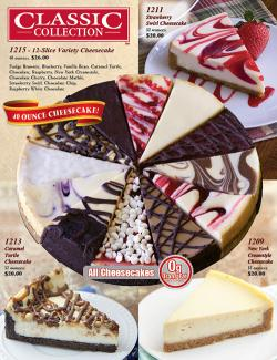 Classic Collection Cheesecake